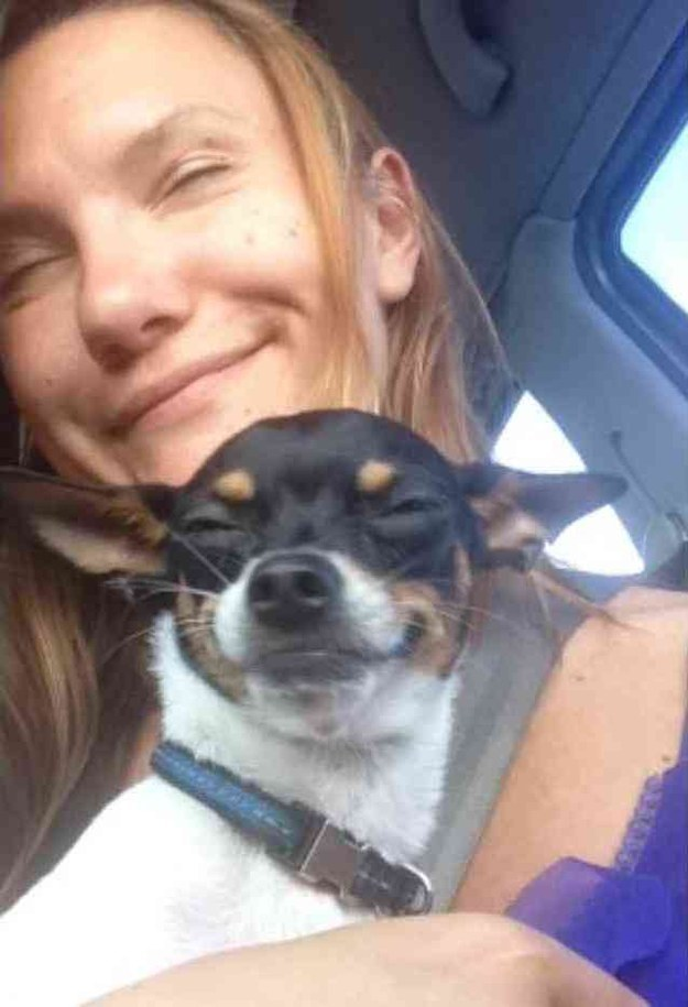 The dog who mimicks their owner